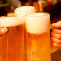 みんなでわいわい飲むビール
